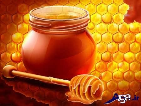 عسل برای دل درد در کودکان