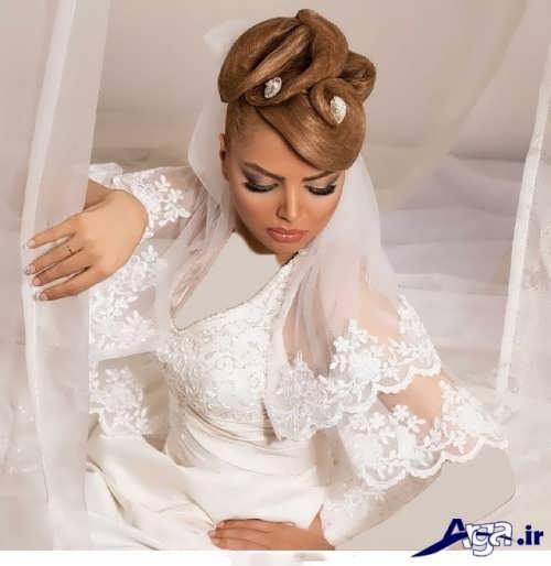 آرایش موی عروس ایرانی