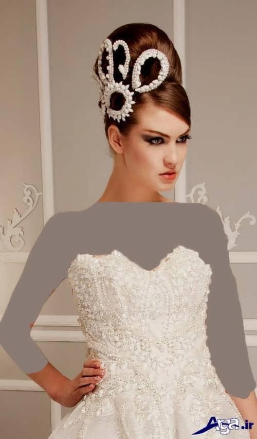 مدل موی بسته عروس ایرانی