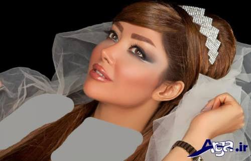 مدل موی نیمه باز عروس