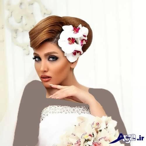 مدل موی زیبا و متنوع عروس