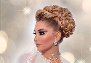 مدل های شینیون عروس ایرانی