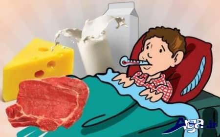 علایم و درمان تب مالت
