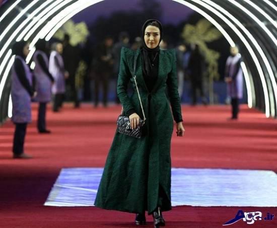 تیپ جدید بازیگر زن ایرانی