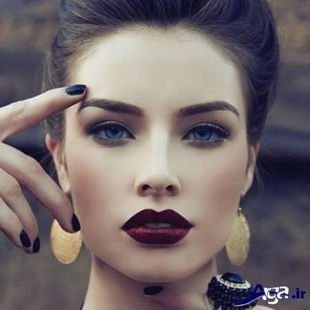 مدل ابرو زنانه برای صورت کشیده