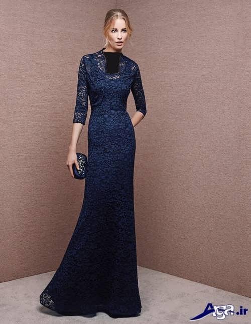 مدل لباس مجلسی گیپور شیک و جدید