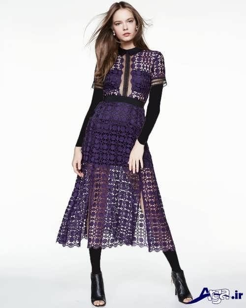 مدل لباس مجلسی گیپور شیک