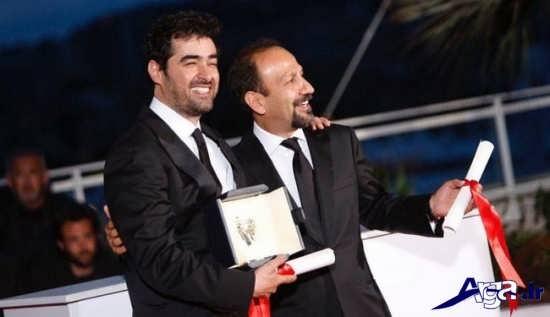 عکس شهاب حسینی با اصغر فرهادی