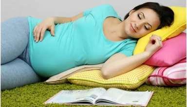 خوابیدن صحیح در دوران بارداری