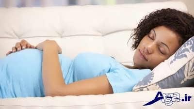 خوابیدن دوران بارداری