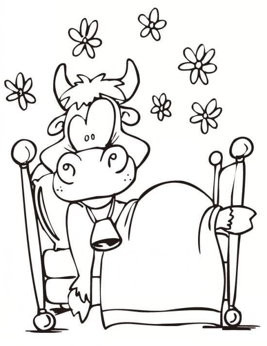 نقاشی های زیبا از گاو