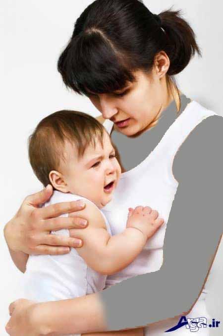 درمان موثر برفک دهان نوزاد