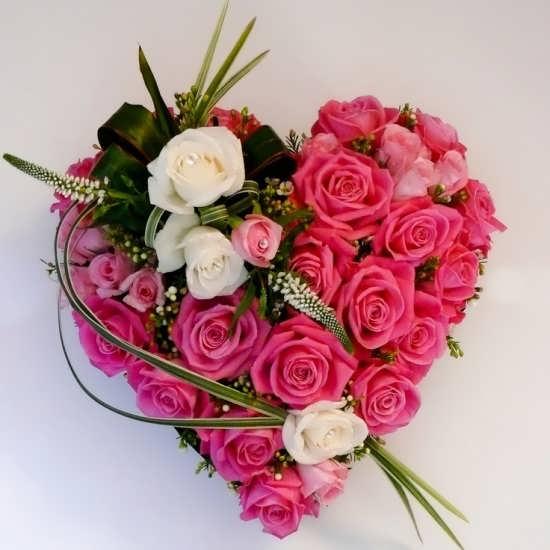 عکس گل قلبی برای پروفایل