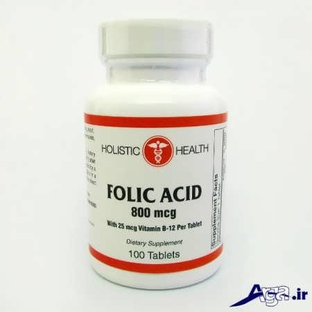 موارد مصرف قرص های اسید فولیک
