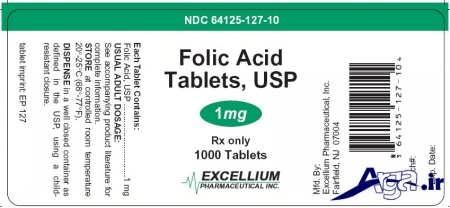 احتیاط در قرص های اسید فولیک