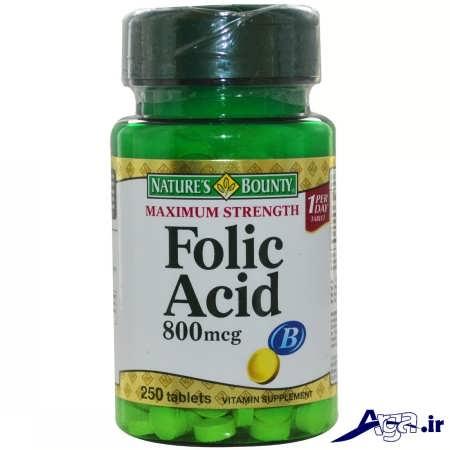 قرص های اسید فولیک و درمان بیماری ها