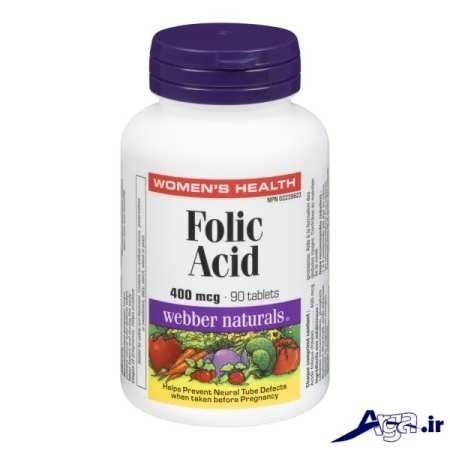 قرص های اسید فولیک و پیشگیری از بیماری ها