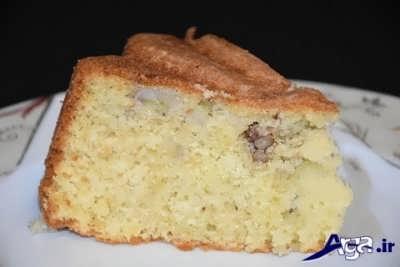 کیک موزی با بهترین طعم