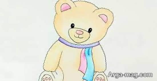 زیباترین نقاشی خرس کودکانه