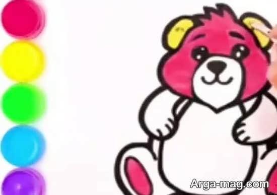 نقاشی و رنگ آمیزی خرس