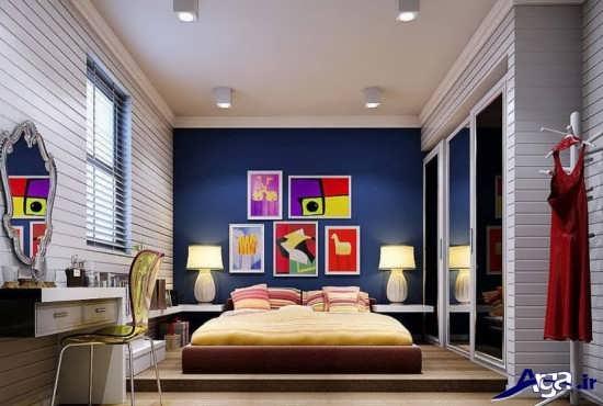 دیزاین اتاق خواب زیبا