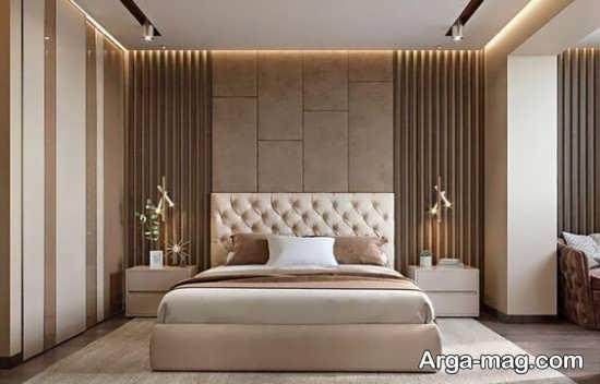 دیزاین منحصر به فرد اتاق خواب