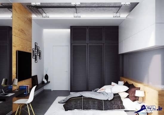دسزاین اتاق خواب مدرن و شیک