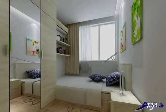 طراحی دکور داخلی اتاق خواب جدید