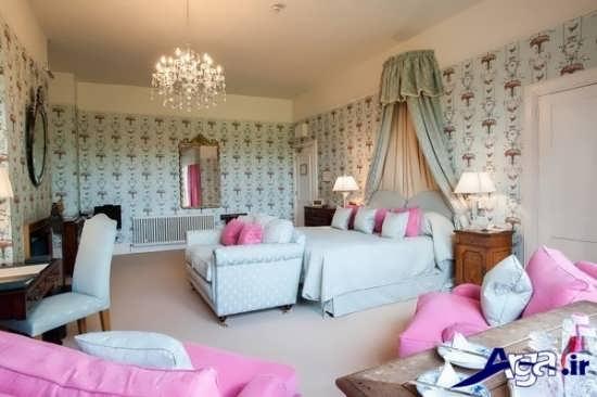 طراحی کاغذ دیواری برای اتاق خواب