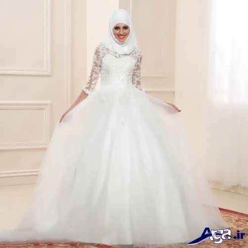 مدل لباس عروس پف دار