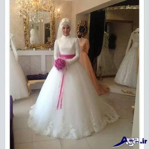 لباس عروس پوشیدن و زیبا
