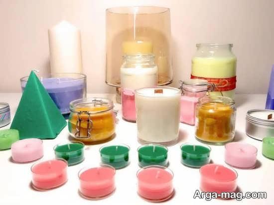 آموزش ساخت شمع تزئینی