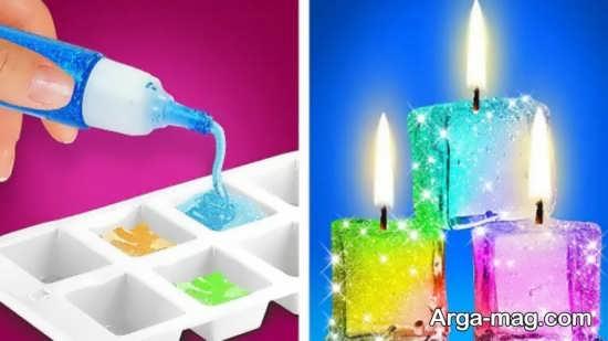 آموزش ساده ساخت شمع