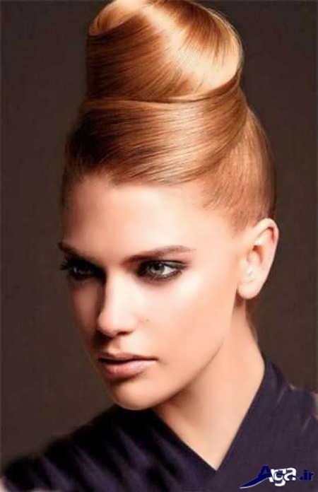 مدل موی خامه ای زیبا و متفاوت