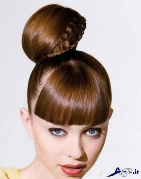مدل آرایش موی خامه ای