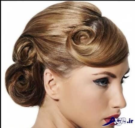 جدیدترین مدل های آرایش موی عروس