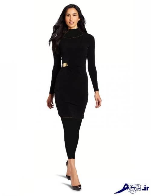 مدل لباس مجلسی مشکی ساده