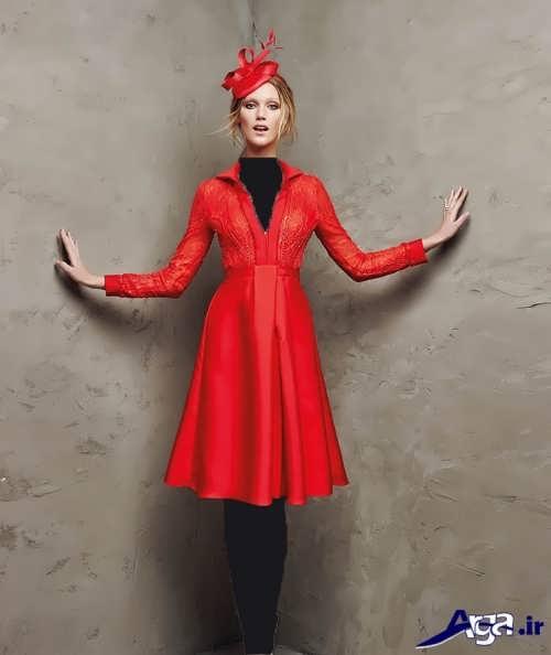 لباس مجلسی کوتاه دخترانه