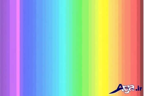 تشخیص طیف رنگ ها در درون تصویر