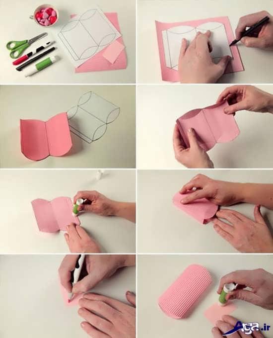 نحوه ساخت جعبه کادو