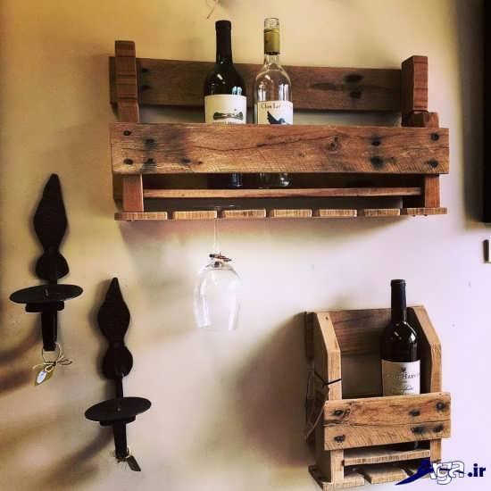 خلاقیت با چوب های دورریختنی