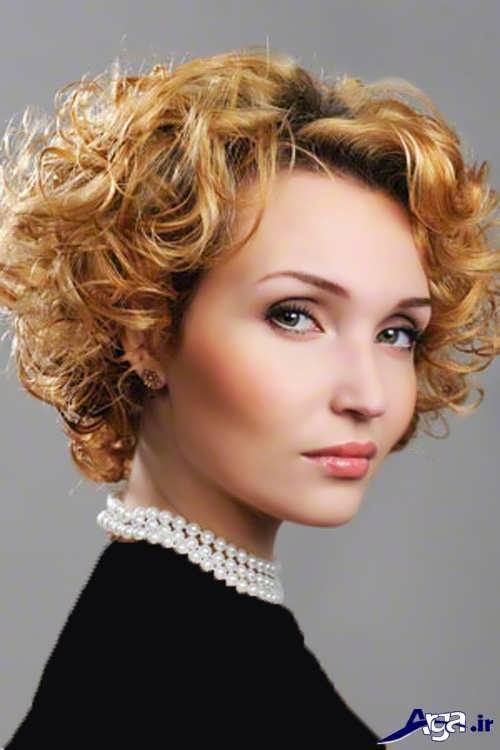 مدل های شیک و زیبا موی فر