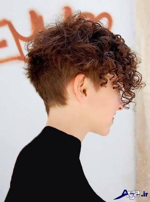 مدل موی فر مد سال