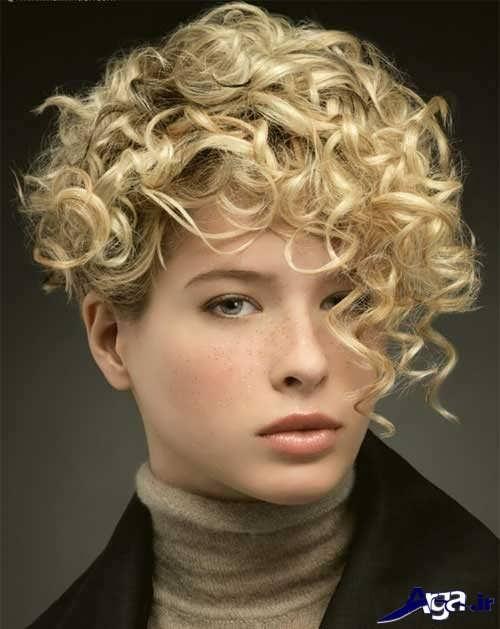 موی فر کوتاه دخترانه