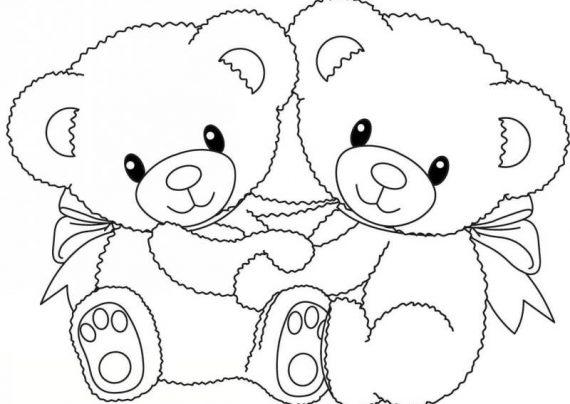 نقاشی های کودکانه خرس
