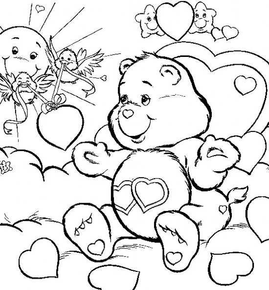 نقاشی خرس عروسکی
