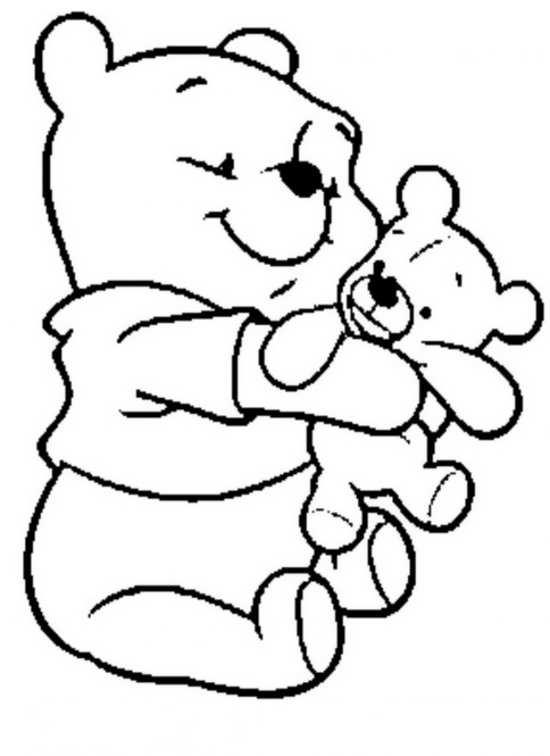 نقاشی عروسک و خرس