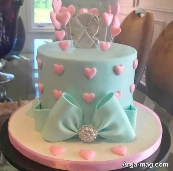تزیینات جدید کیک تولد خانگی