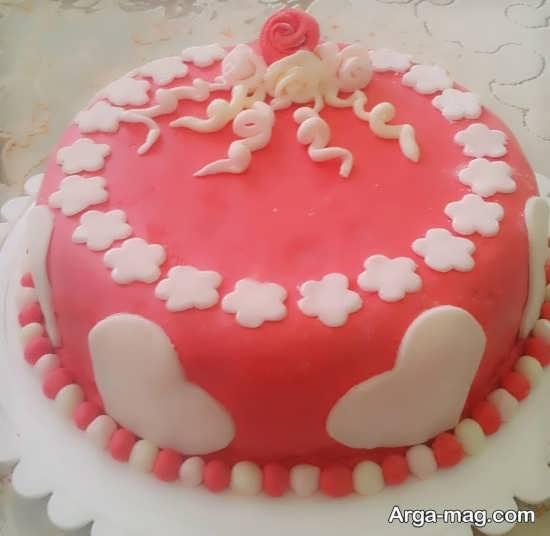 تزیینات بی نظیر کیک تولد خانگی
