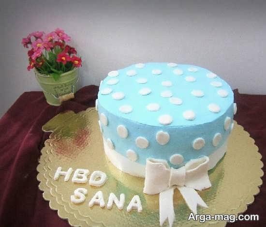 تزیینات عالی کیک تولد خانگی